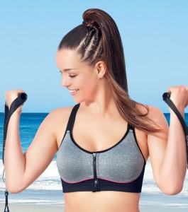 Enamor SB11 High Impact Sports Bra - Padded • Wirefree • Front Zipper