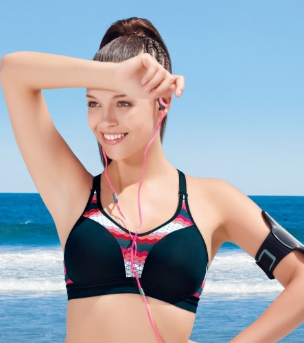 7a41b2245d5e2 Enamor SB04 High Impact Sports Bra - Racer Back • Non-Padded • Wirefree